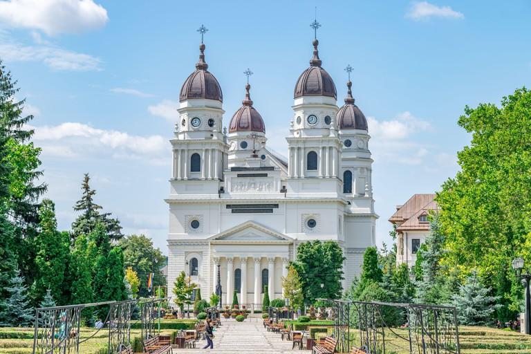 The Metropolitan Cathedral in Iasi, Romania