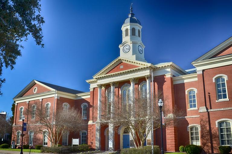 Pasquotank County Court House - Elizabeth City, North Carolina