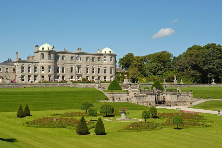 The magnificent POWERSCOURT ESTATE and GARDENS, ENNISKERRY, COUNTY WICKLOW, SOUTHERN IRELAND