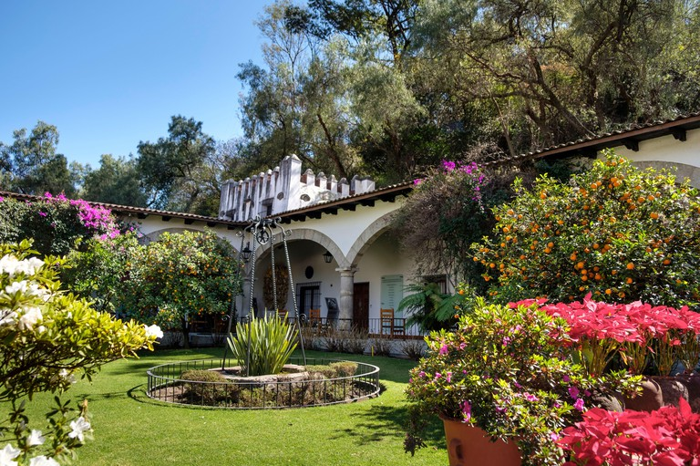 Museo Dolores Olmedo with famous collection of Frida Kahlo and Diego Rivera,  Mexico City, Mexico