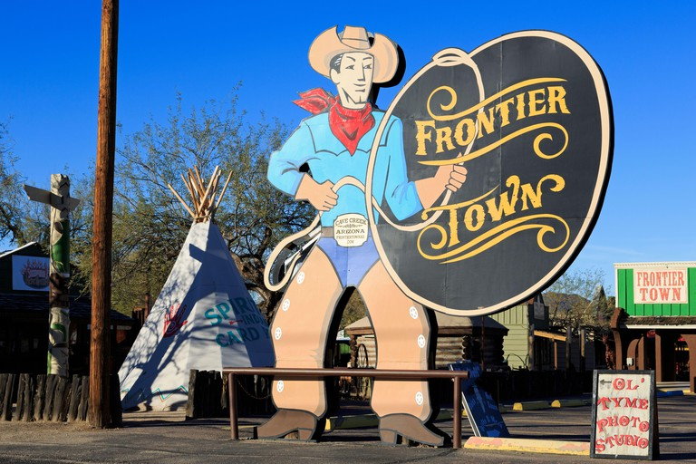 Frontier Town,Cave Creek,Arizona,USA