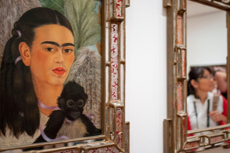 Fulang-Chang and I by Frida Kahlo at the MOMA in New York City, USA. When curators Leah Dickerman, Luis Perez-Oramas, and I began to discuss our plans