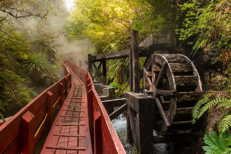 Geometricas Hot Springs, Conaripe, near Pucon, Panguipulli, Los Rios, Chile