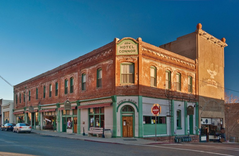 Historic Hotel Connor in Jerome in Verde Valley, Arizona, USA
