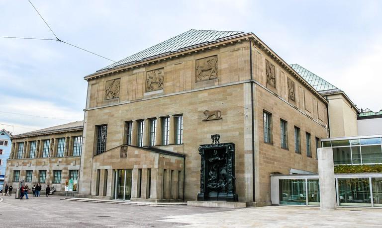 Art museum Kunsthaus. Zurich, Switzerland