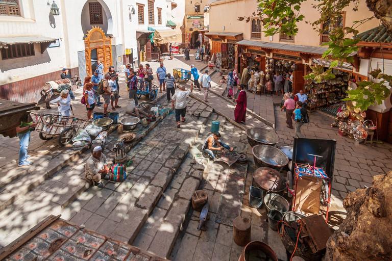 Place Seffarine fes morocco