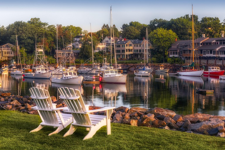Within the quaint town of Ogunquit, Maine is the harbor, Perkins Cove. The cove is a popular tourist destination and a safe harbor for fishing and ple