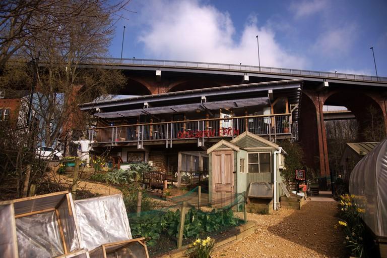 Ouseburn Farm, Byker, Tyne and Wear 2E3NF0T