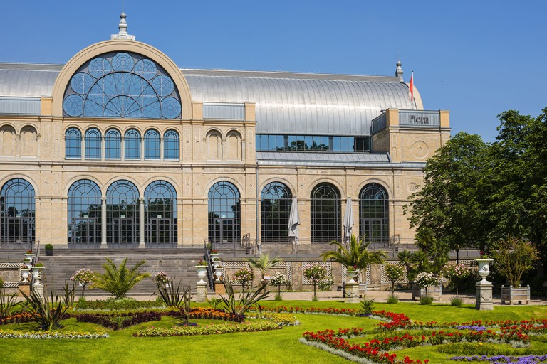 2F34B82 geography / travel, Germany, North Rhine-Westphalia, botanical garden, festival hall of the flora, Cologne, Freedom-Of-Panorama