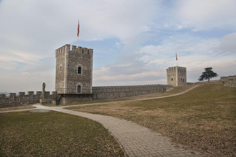 Skopje Fortress at Skopje in Macedonia.