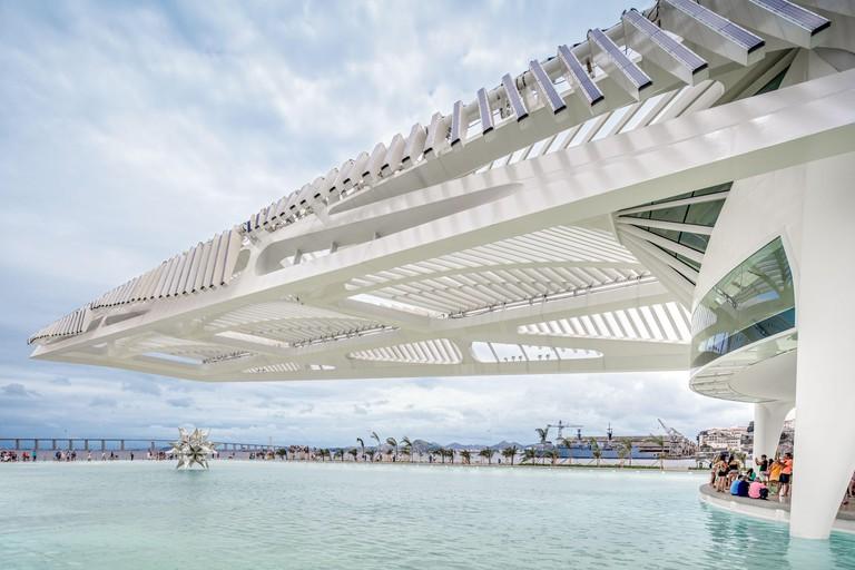 Spanish Architect Santiago Calatrava's designed, The Museum of Tomorrow, Puerto Maravilha, Rio de Janeiro, Brazil