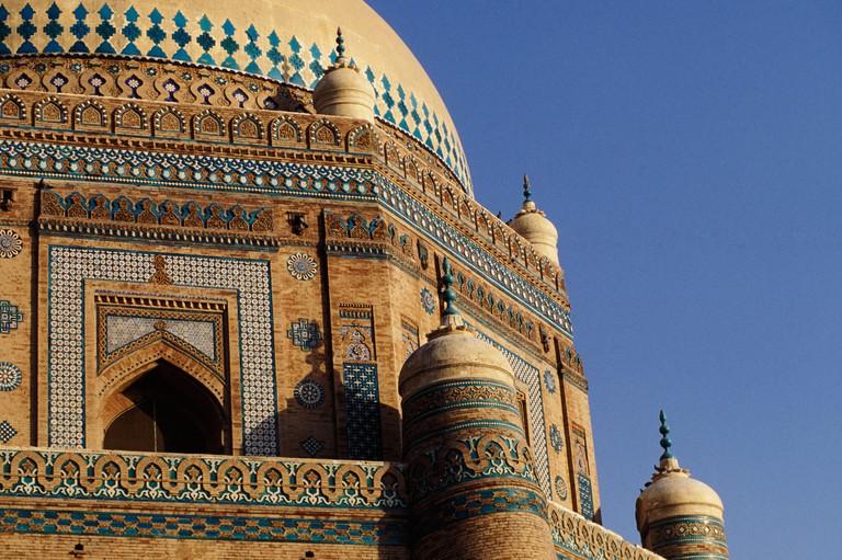 Pakistan, Multan, Mausoleum of Shah Rukn e Alam, 1320