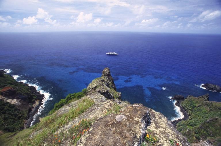 St Paul s Point Bounty Bay Pitcairn Island