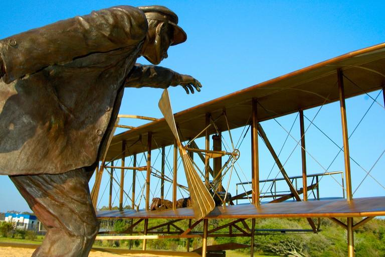 Wright Brothers Memorial, Kitty Hawk, Kill Devil Hills, North Carolina