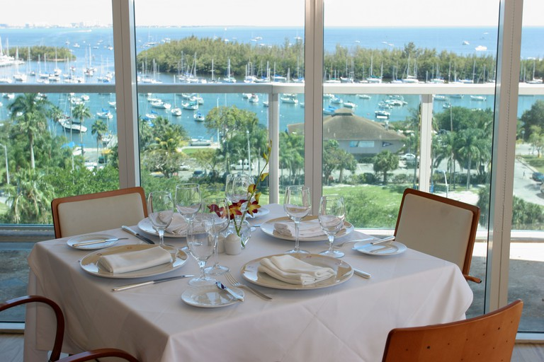 Florida, FL, South, Miami, Coconut Grove, Sonesta, hotel hotels lodging inn motel motels, Panorama, restaurant restaurants food dine dining eating out