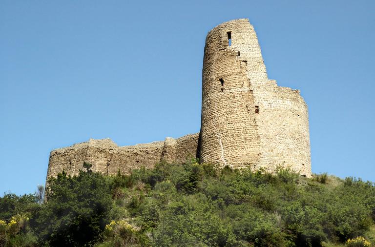 Ruins of Bebristsikhe Fort