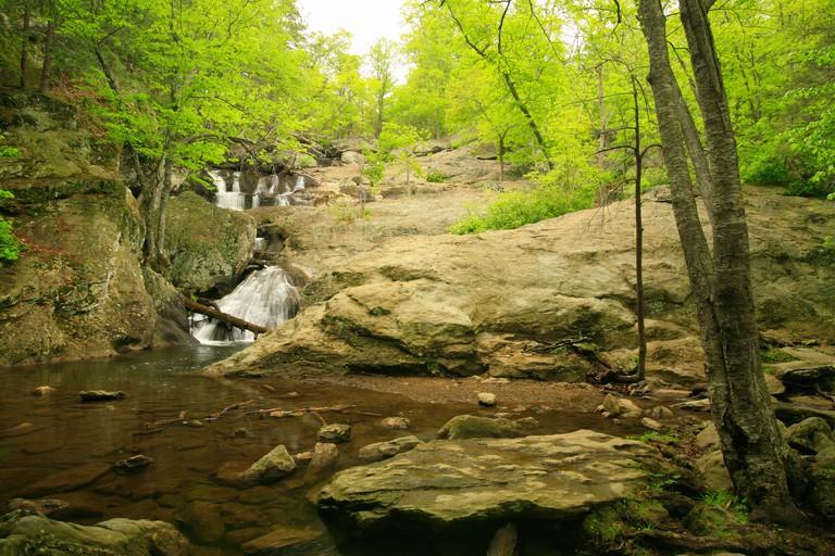 Cunningham Falls, Cunningham Falls State Park, Thurmont, Maryland, USA