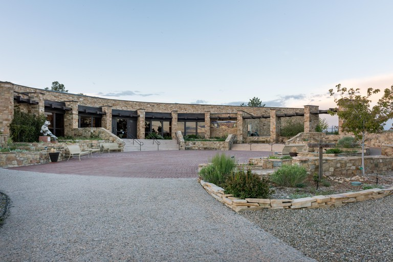 The  Anasazi Heritage Center, a museum of the Ancestral Puebloan (or Anasazi) Culture and other Native cultures in the Four Corners region near Dolores in Montezuma County, Colorado