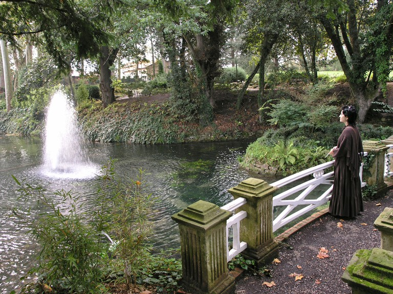 Atlantic Botanical Garden Gijon Asturias Spain. Image shot 2007. Exact date unknown.
