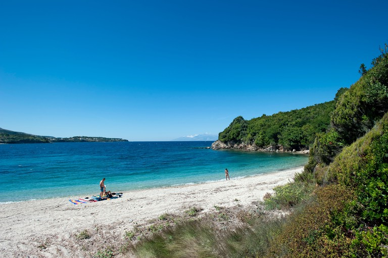 Avlaki Beach, Corfu, Greece C09TWT