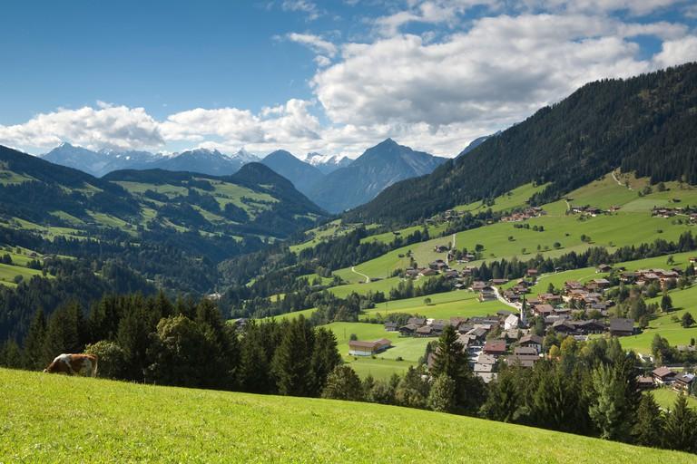 Alpbach, Tirol, Austria. Image shot 2007. Exact date unknown.