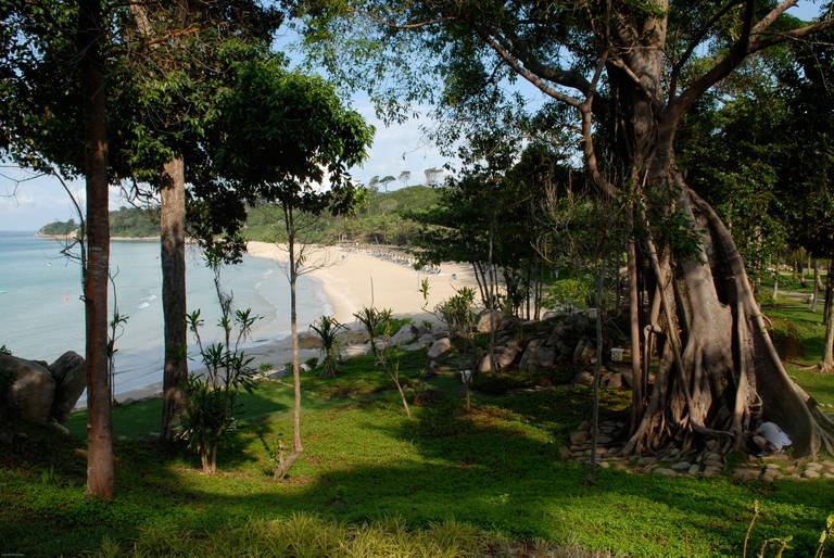 Club Med Bintan island resort. Le Club Med de l'ile de Bintan.