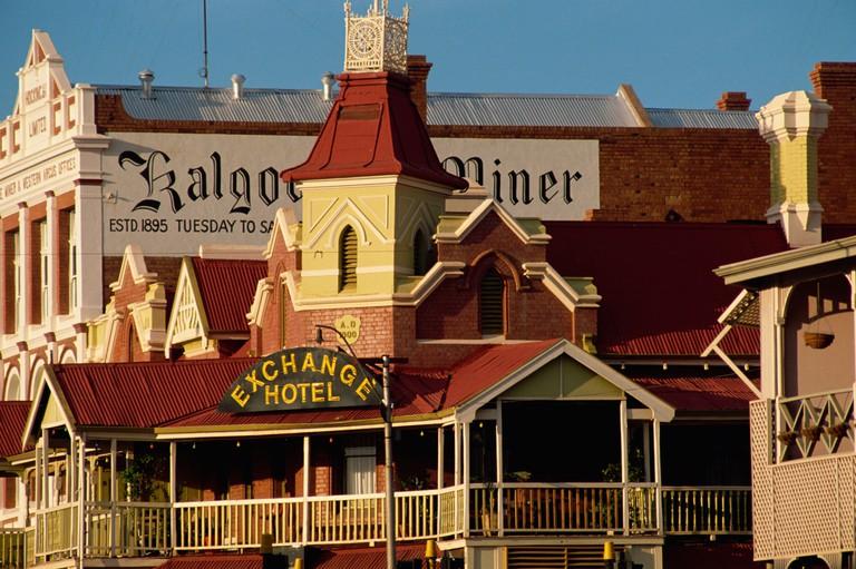 Exchange Hotel dating from 1900 Kalgoorlie Western Australia Australia Pacific