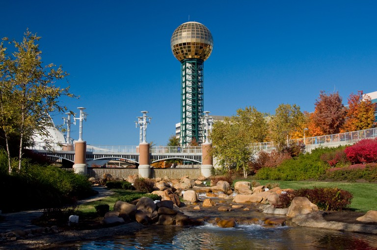 The Sunsphere at World s Fair Park in Knoxville Tennessee. Image shot 11/2008. Exact date unknown.