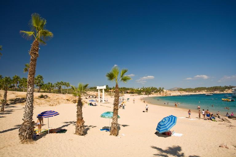 Chileno Beach and Bay, Cabo San Lucas,   Baja California, Mexico (RF)