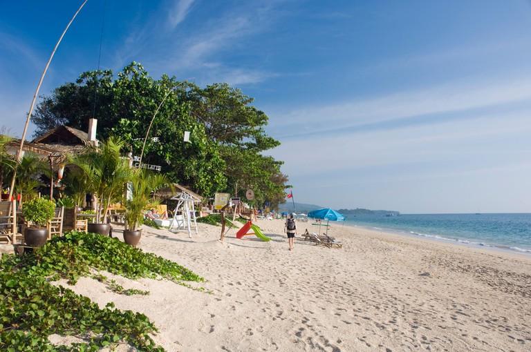 Long Beach, Phra Ae Beach, island of Ko Lanta, Koh Lanta, Krabi, Thailand, Asia