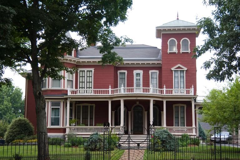 Former home of writer Stephen King in Bangor, Maine