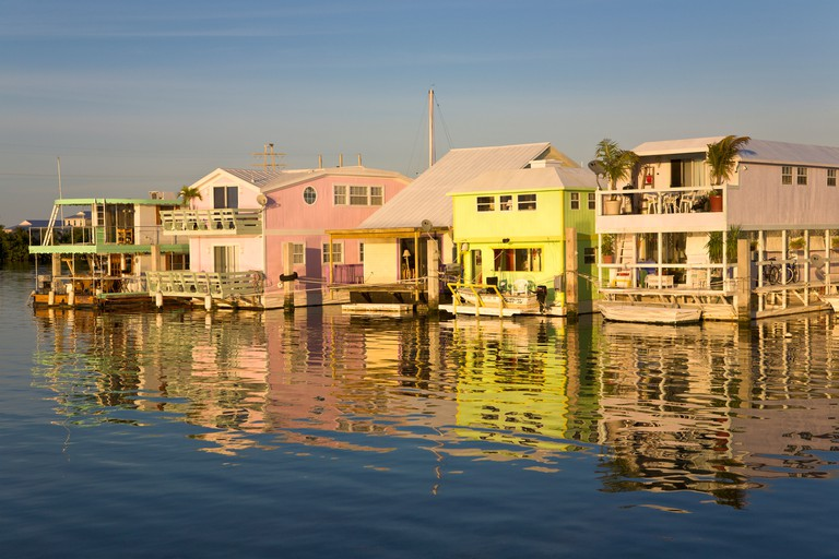 Floating Houses, Key West, Florida, USA