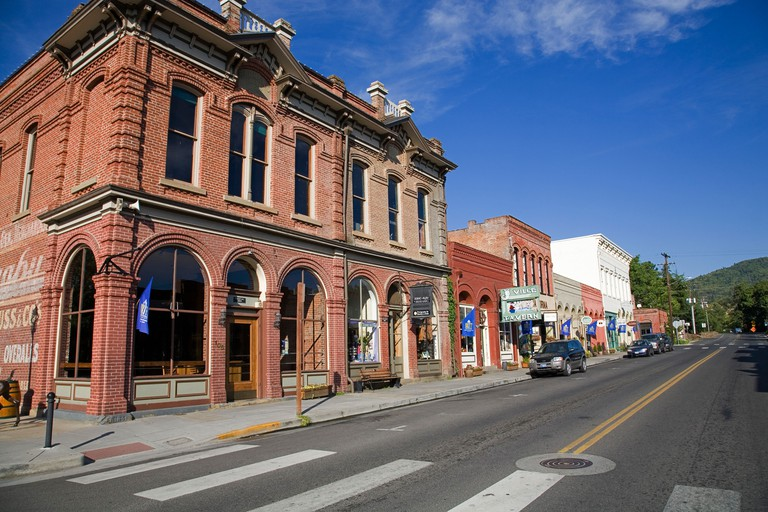 A view of downtown Jacksonville, Oregon