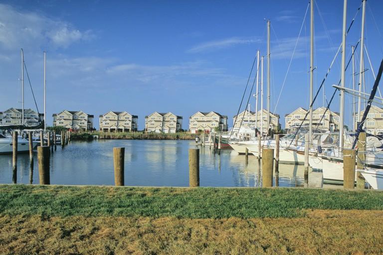 Mears Point Marina, Kent Island, MD.