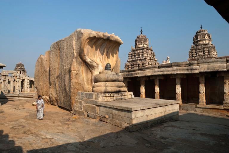 Veerabhadra Temple(16th century), Lepakshi ,Andhra Pradesh.