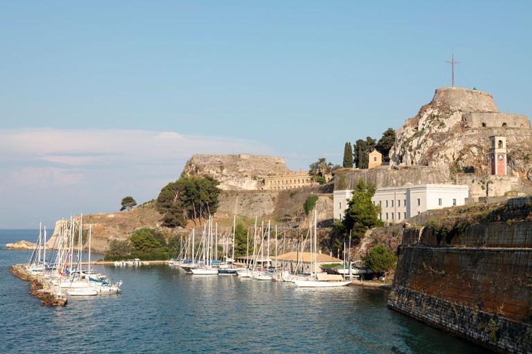 Old Fortress Corfu Town