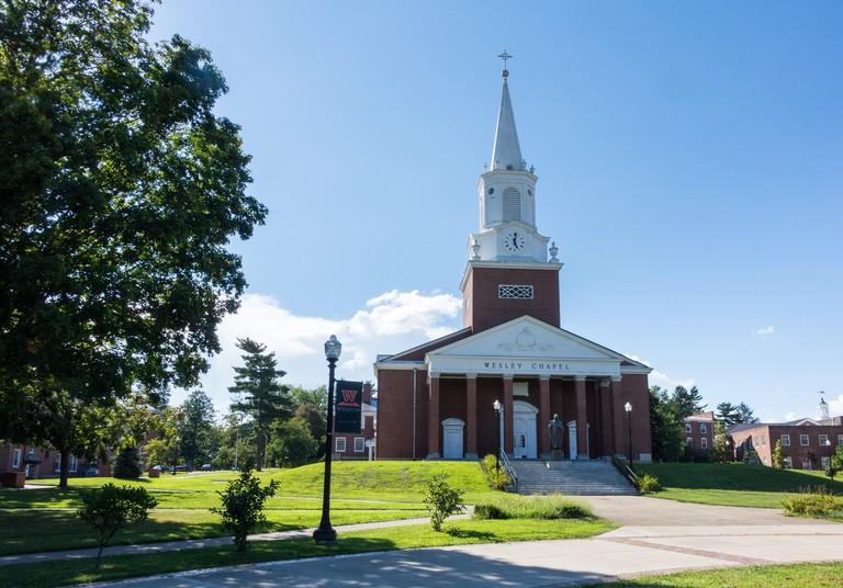West Virginia Wesleyan College Buckhannon WV. Image shot 08/2016. JF23RG