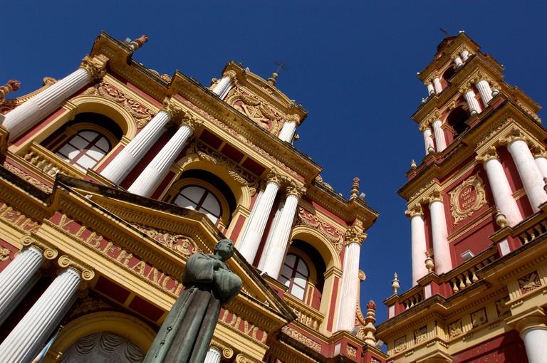 Argentina South America Iglesia San Francisco Church Salta City Salta South America town
