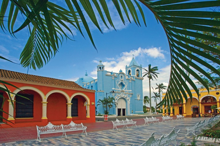 Mexico Central America America Veracruz State Tlacotalpan city UNESCO World heritage site South America Februa