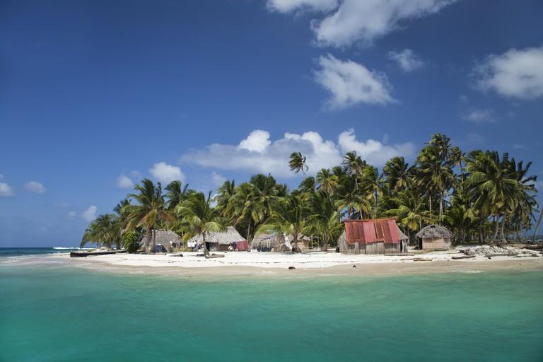 Diablo Island (Niatupu), San Blas Islands, Caribbean Sea, Panama, Central America