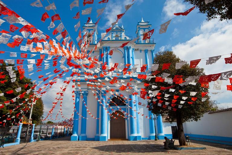 Santa Lucia Church, San Cristobal de las Casas, Mexico