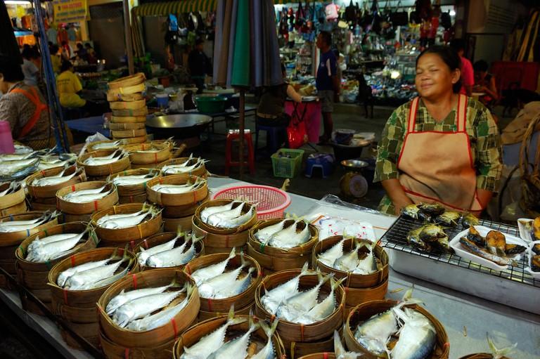 C1NPWB Thailand, Nakhon Ratchasima province, Phimai, night market