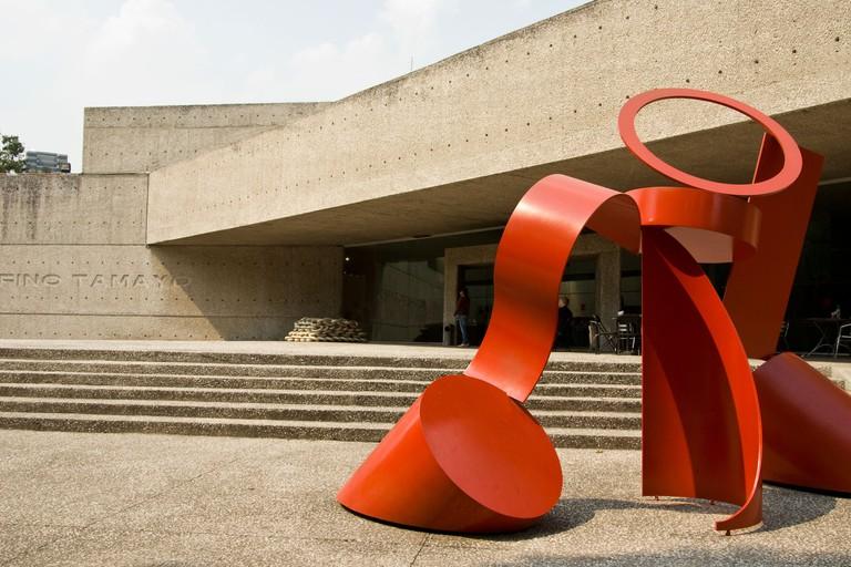 Mexico city. Rufino Tamayo Museum.