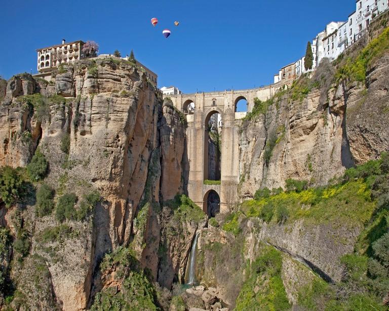 ES - ANDALUSIA: Puente Nuevo at Ronda