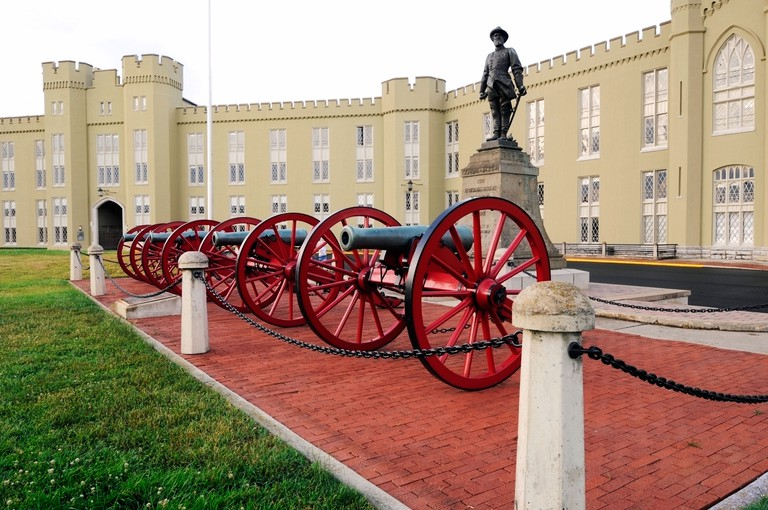 Virginia Military Institute VMI United States Army Officer College located in Lexington Virginia