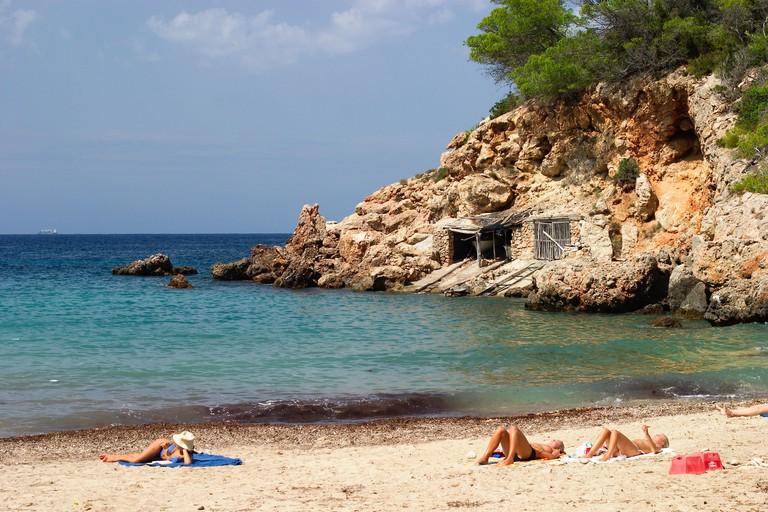 Cala Xucla near Portinatx Ibiza