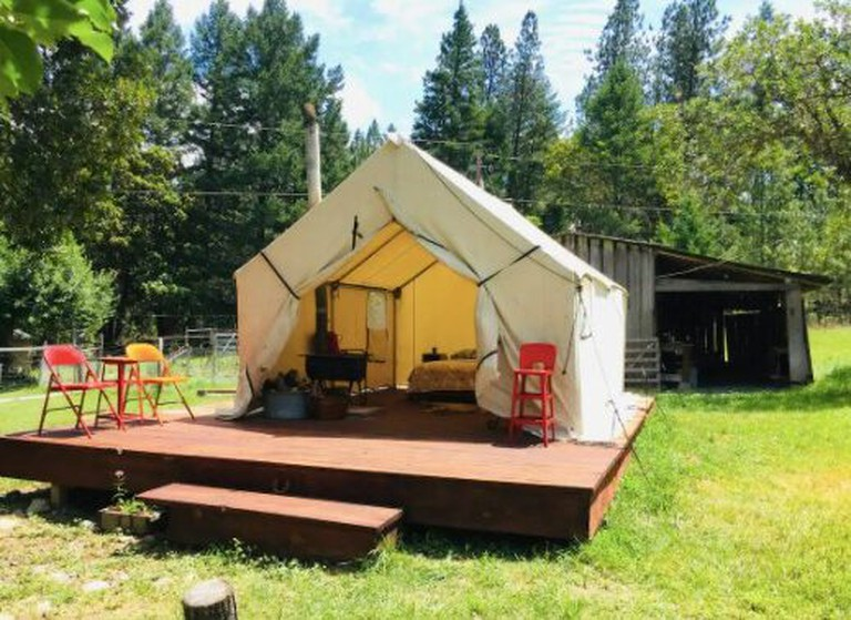 Camp Cowgirl at Surf Ranch in the Wine Country