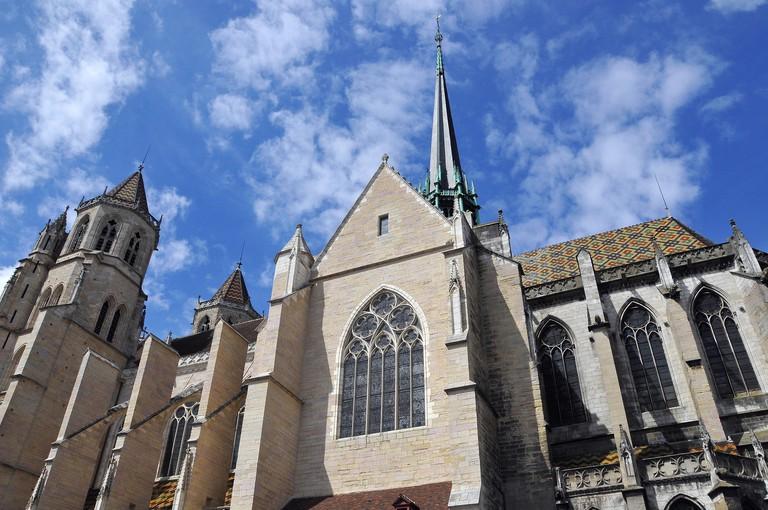 Cathedral of Saint Benignus of Dijon, Dijon Cathedral, Cathedrale Saint-Benigne de Dijon, Dijon, France, Europe