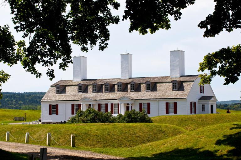 Fort Anne National historic Site, Annapolis Royal, Nova Scotia, Canada