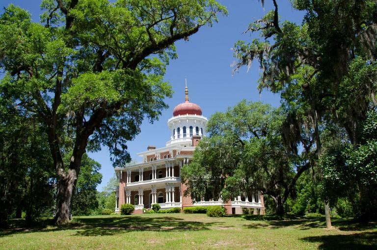 "Mississippi, Natchez. ""Longwood"" historic home built in Oriental Villa style."